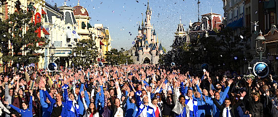 Disneyland Paris celebrates its 25th anniversary... by looking to the future
