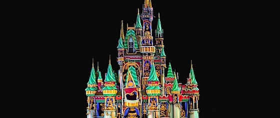Walt Disney World pushes projection mapping in new fireworks show