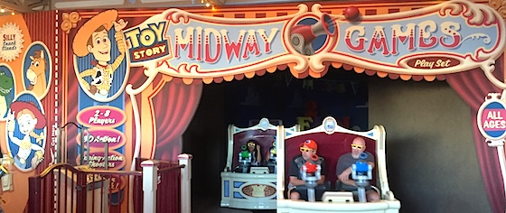 The case against Toy Story Midway Mania