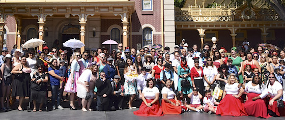 Dapper Day brings thousands of well-dressed fans to Disneyland