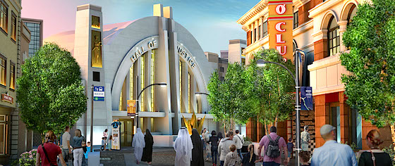 Warner Bros. World Abu Dhabi reveals lands and concept art