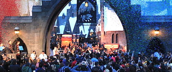 The power of magic: USH attendance up 60% after Potter