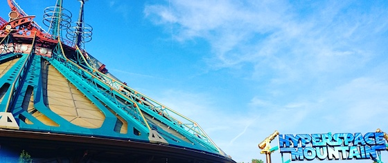 Hyperspace Mountain blasts off at Disneyland Paris