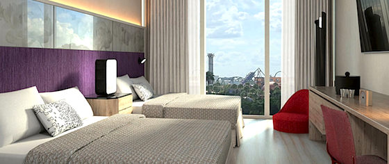 Universal Orlando opens reservations for its Aventura Hotel