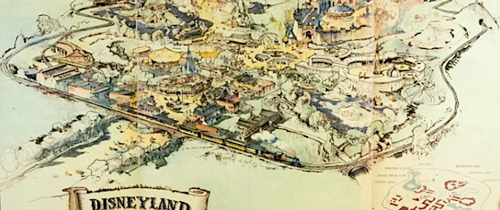 About that 'original' hand-drawn Disneyland map...