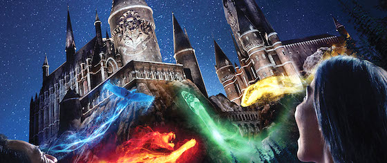 Universal Studios Hollywood announces Harry Potter light show