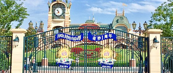 Shanghai Disneyland celebrates its first birthday