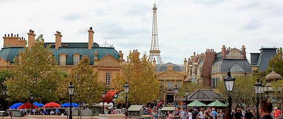 Plans filed for site work at Walt Disney World's France pavilion