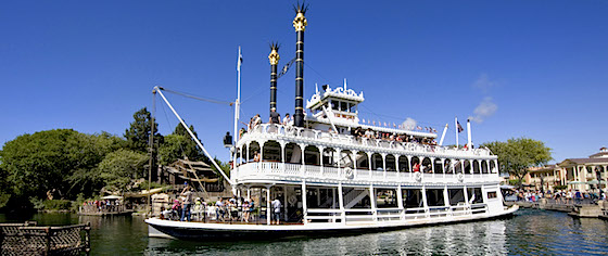 Rivers of America attractions, Railroad reopen at Disneyland