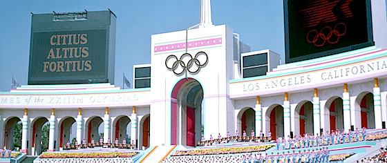 What should theme parks do when the Olympics come to town?