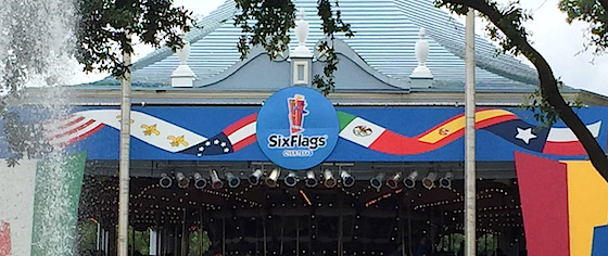 Six Flags are now one; Texas park pulls down non-American flags