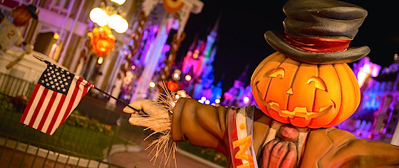 Are you ready for Halloween? Because Walt Disney World is