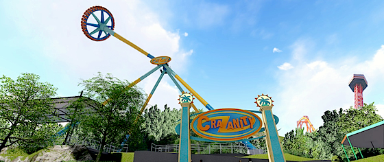 Six Flags announces its line-up of new rides for 2018