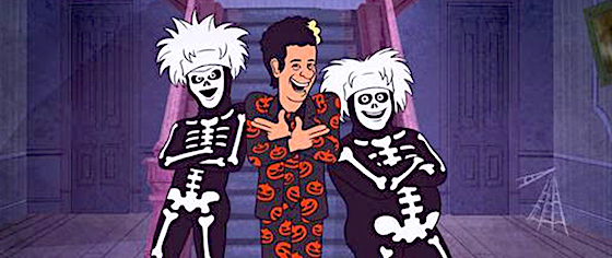 What should Universal Studios do with David S. Pumpkins?