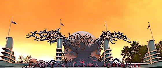 Canyon Fire at Disneyland