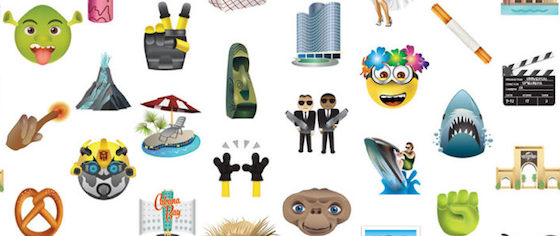 Forget the Phoenicians: Let's download some theme park emoji!