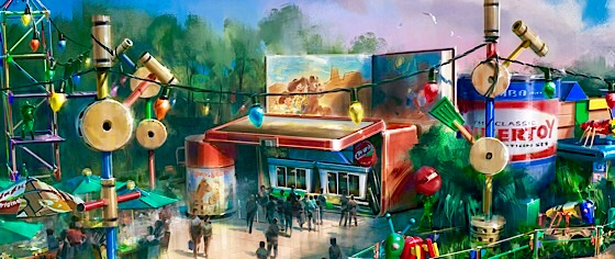 Walt Disney World announces the restaurant for its Toy Story Land