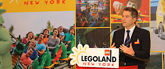 Legoland announces its New York theme park will open in 2020