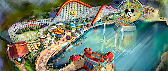 Pixar Pier transformation at Disney California Adventure begins Jan. 8