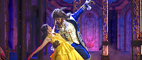 New 'Beauty and the Beast' musical debuts on the Disney Dream