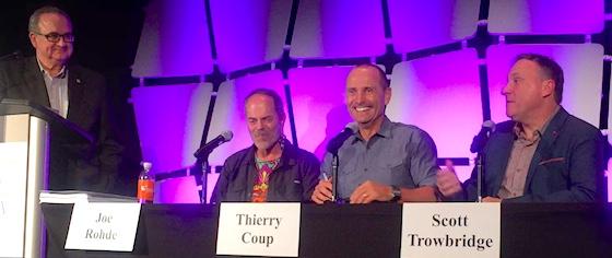 Legends 2017: Joe Rohde, Scott Trowbridge, and Thierry Coup