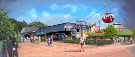 Walt Disney World reveals more details about its new Skyway system