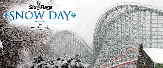 Six Flags planned the world's largest snowball fight... and irony won