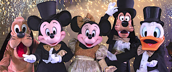 Get ready for the New Year at Walt Disney World