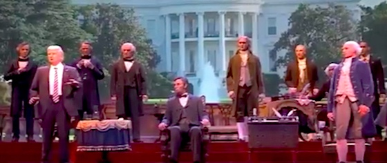 Hall of Presidents is reopening at Disney World... really