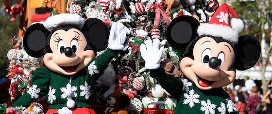 Which is more crowded on holiday week: Disneyland or Disney World?