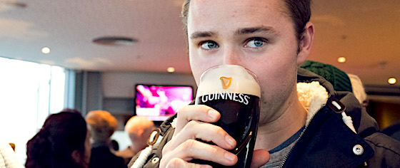 Finding the taste of Ireland at Dublin's Guinness Storehouse