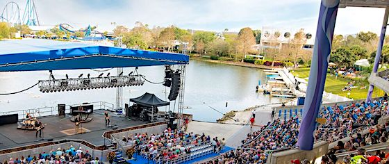 SeaWorld Orlando announces first slate of Seven Seas concert acts