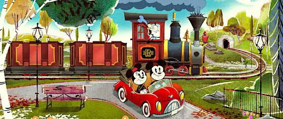 Let's take a first look at the plans for Mickey & Minnie's Runaway Railway