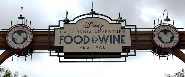 DCA Food and Wine Festival opens on a rainy day in LA