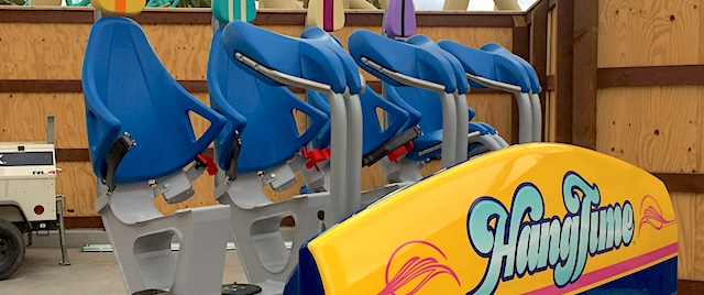 HangTime is testing at Knott's Berry Farm