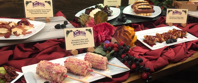 What's on the menu at Knott's Boysenberry Festival this year?