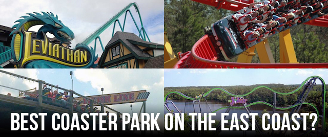 Tournament 2018: What's the best coaster park on the east coast?