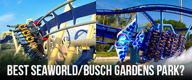 Tournament 2018: Which is the best SeaWorld/Busch Gardens park?