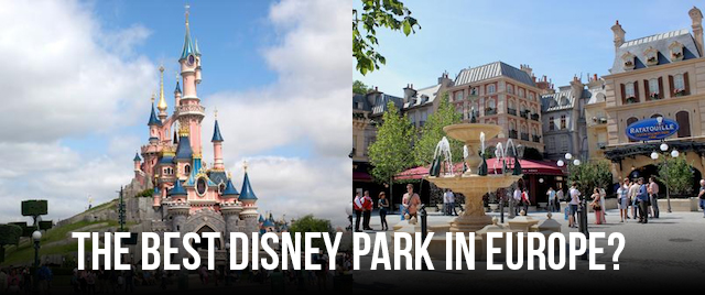 Tournament 2018: Which is the better Disney park in Europe?