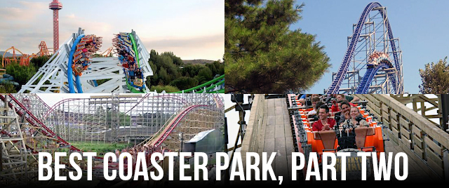 Tournament 2018: Which is the best coaster park (Midwest/West division)?