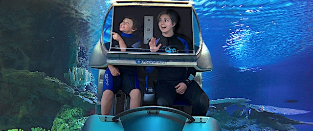 New theme park ride system lets fans drive under the sea