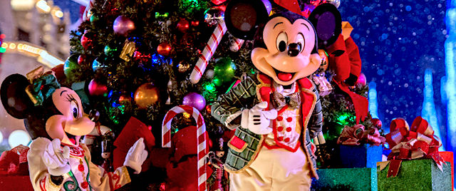 Tickets now on sale for Walt Disney World's annual holiday parties
