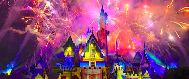 First look at Disneyland's new Together Forever Pixar fireworks