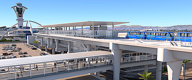 LAX is getting a new Automated People Mover system