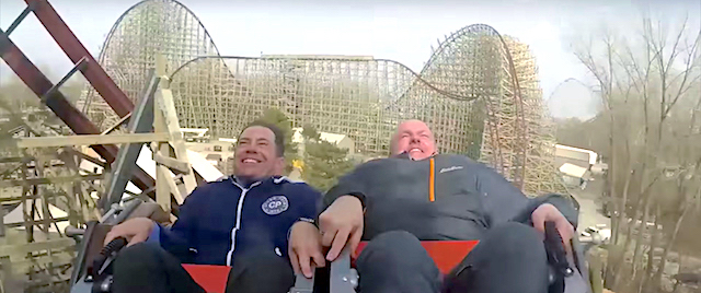 Here's the first on-ride video from Cedar Point's Steel Vengeance