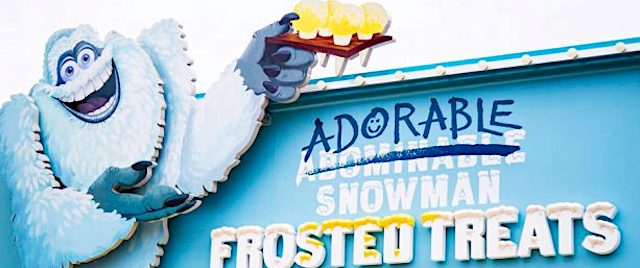Adorable Snowman Frosted Treats opens on Disney's Pixar Pier