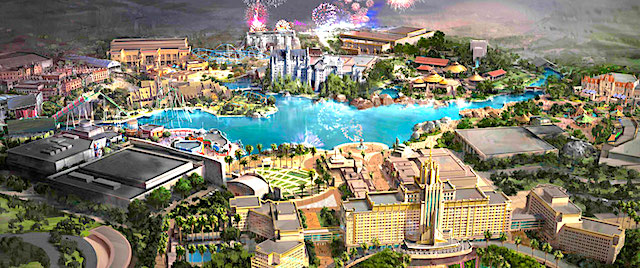 Universal expands plans for its new theme park in China