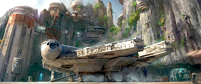 Why is Disney opening Star Wars land at Disneyland first?