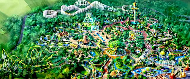 One of the world's most popular theme parks is looking to expand