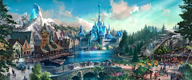 Disney adds a coaster to its Hong Kong 'Frozen' plans